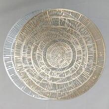Европейский Стиль коврик для столовых приборов современный простой
