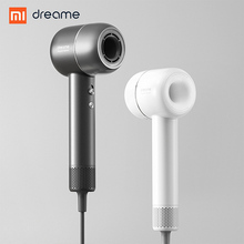 New XIAOMI Dreame Hair Dryer 1400W  110,000 rpm Intelligent Temperature Control Hair Dryer Negative Ion Men And Women Home