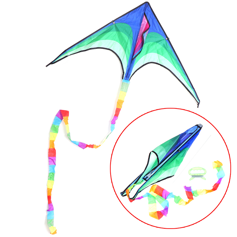Large Delta Kite For Kids Adults Single Line Easy Handle To Include J1Y0 E0X4