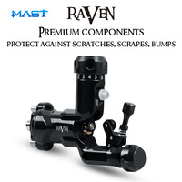 Tattoo Rotary Machine Raven New Design Import Strong Motor Powerful Tattoo Guns for Permanent Makeup Tattoo Supply