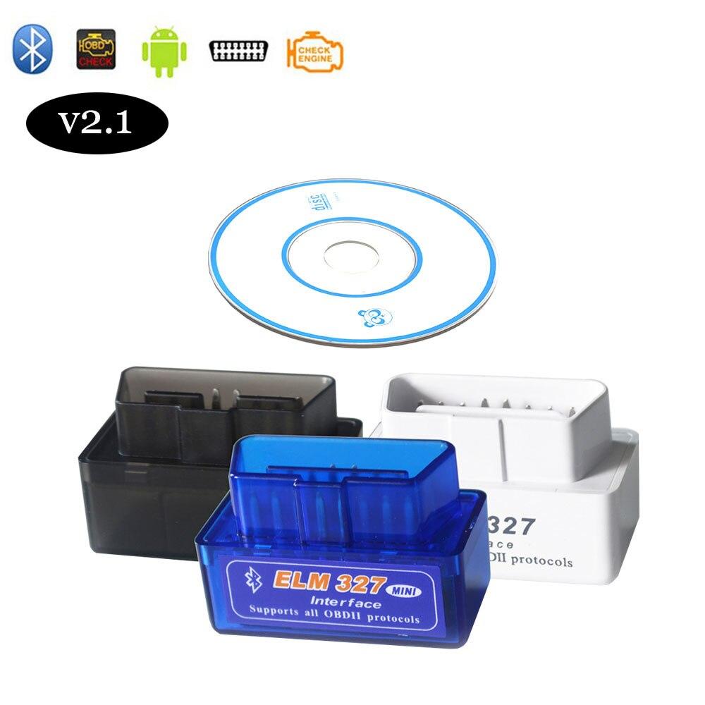 OBD2 Scanner V2.1 ELM327 Adapter For Renault Fluence Megane Logan Clio Duster Bluetooth OBDII Scanner Auto Car Diagnostic Tools