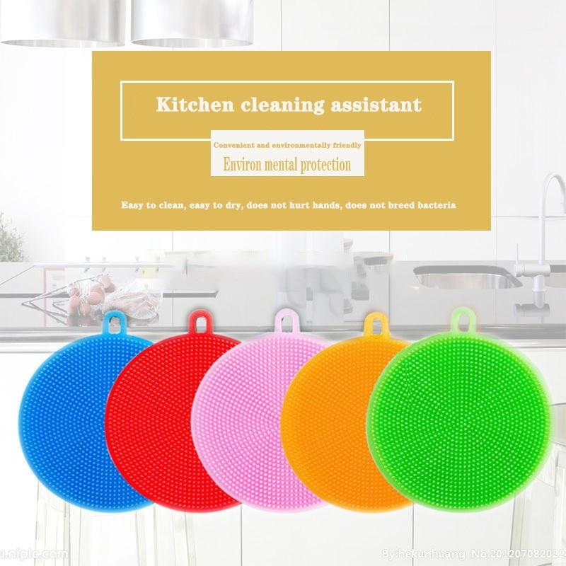 Dishwashing-Brush Multifunctional Cleaning-Artifact Kitchen-Decontamination Silicone