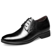 남자를위한 엘리베이터 신발 결혼식 신발 남자 이탈리아어 신발 남자 패션 Zapato 공식 Hombre Sapato 사회 Masculino 스카프 Uomo