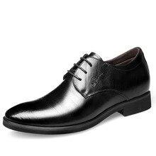 Zapatos altos de boda para Hombre, zapatos italianos, moda, Formal, Masculino