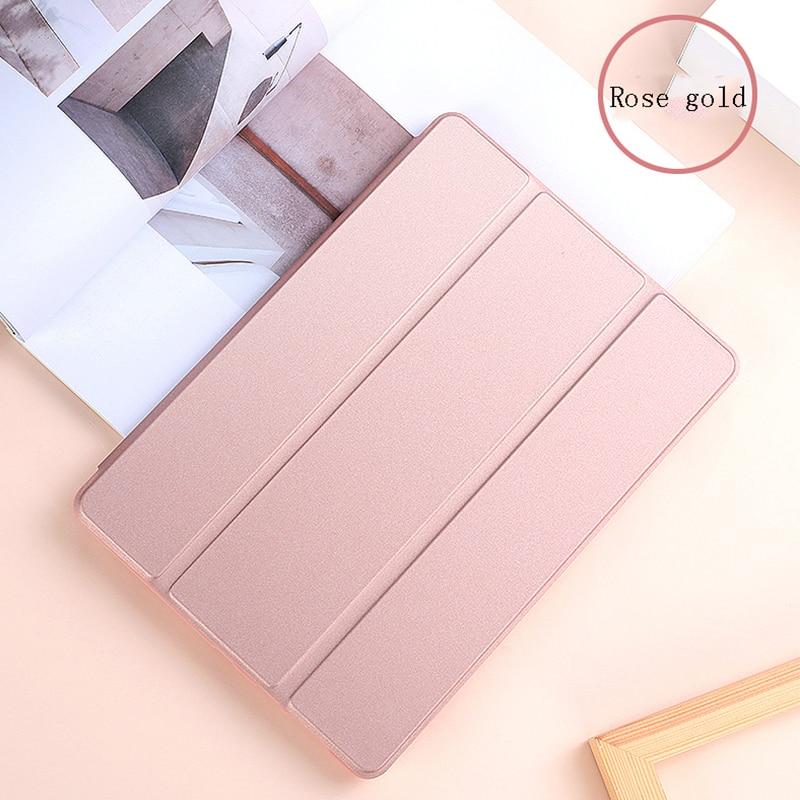 Funda iPad 10 2 inch 2020 PU Leather Tri fold Shockproof Case For Apple iPad 8th