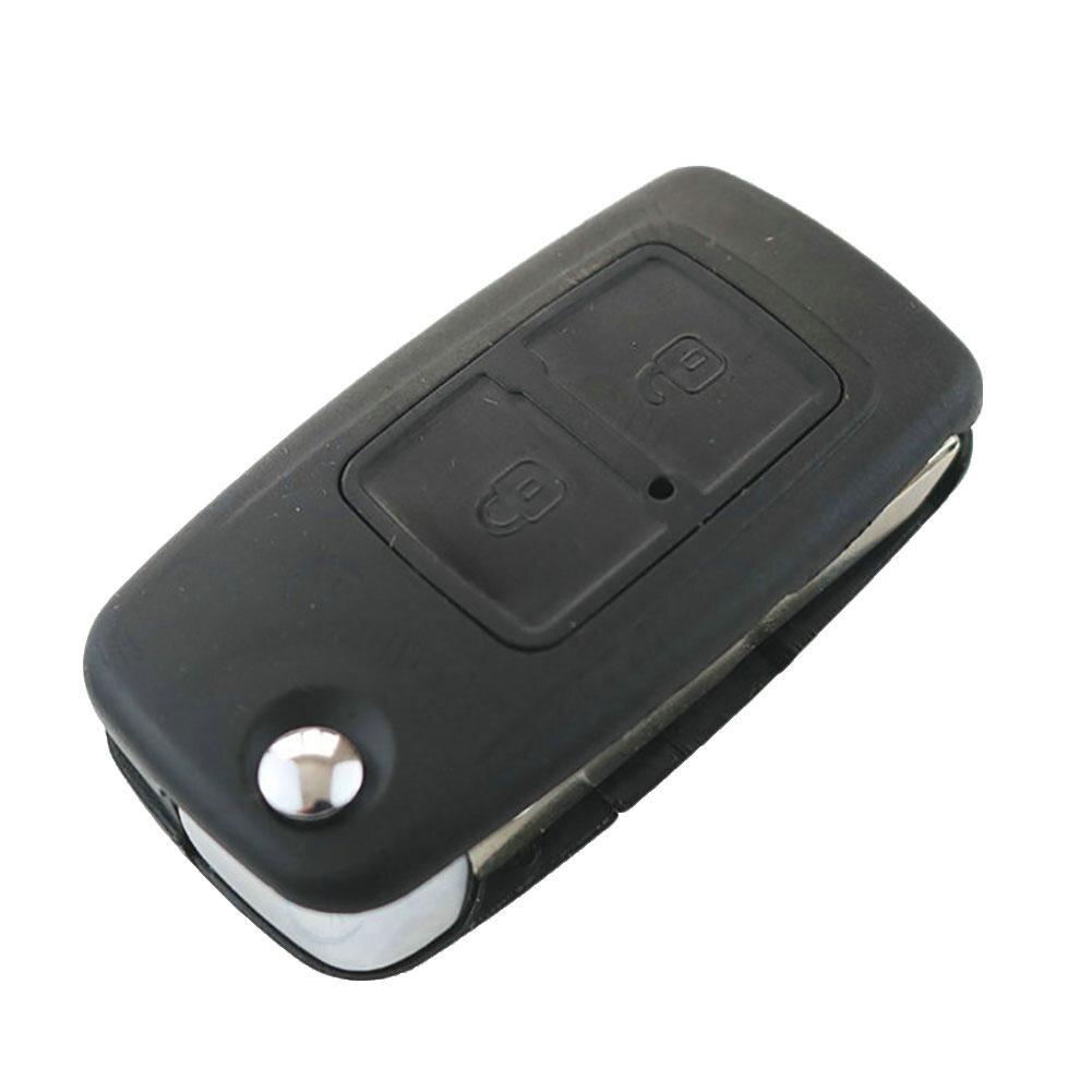 OkeyTech 2 кнопки для Chery A5 Fulwin Tiggo E5 A1 Пасхальный чехол для автомобильного ключа дистанционный брелок пустой ключ складной Флип необработанное л...