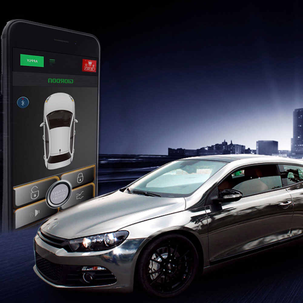 car alarm autostart car central lock style car parts Smart APP Bluetooth unlock Automatic Trunk Opening central locking for cars