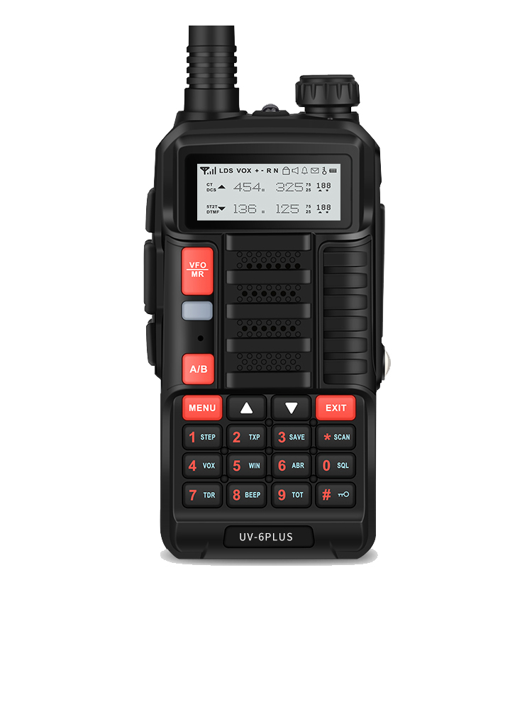 Baofeng Ham Radio Transceiver Walkie-Talkie Uv-5r Power Dual-Band Rechargeable PLUS 7W
