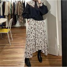 Женское винтажное платье составного кроя длинное кружевное с
