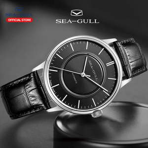 Image 4 - Seagull mechanical watch men automatic watch 50m  Waterproof mechanical watch brand watch self winding mens watch  819.22.6060