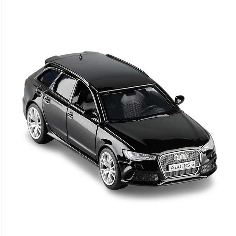 1:36 Audi RS 6 Avant Die Cast Modellauto Auto Spielzeug Model Sammlung Pull Back
