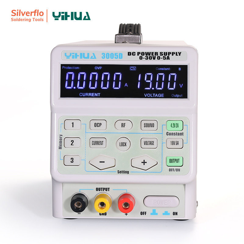 YIHUA 3005D DC <font><b>Power</b></font> 150W Adjustable Laboratory <font><b>Power</b></font> <font><b>Supply</b></font> <font><b>5A</b></font> <font><b>30V</b></font> image