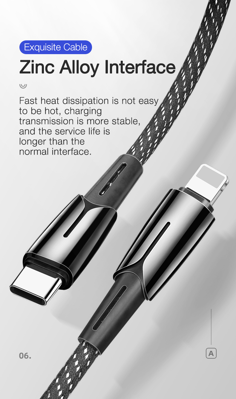 USB C to for Lightning Cable (8)