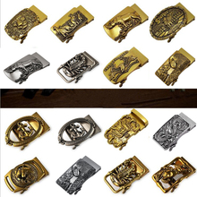 Новая антикварная Автоматическая пряжка мужской ремень голова Ретро Сплав пряжка брюки ремень пряжка голова золотой кран Пряжка Роскошная Мода