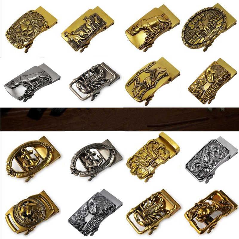 Hebilla Automatica Antigua Para Hombre Cabeza De Cinturon Hebilla De Aleacion Retro Pantalones Hebilla Para Cinturon Grifo Dorado Moda De Lujo Cinturones De Hombre Aliexpress