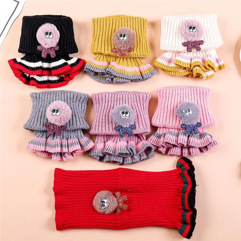 Deer Colorful Christmas Printing Scarf Warm Soft Fashion Scarf Shawl Spring Autumn Winter Kids Boys Girls