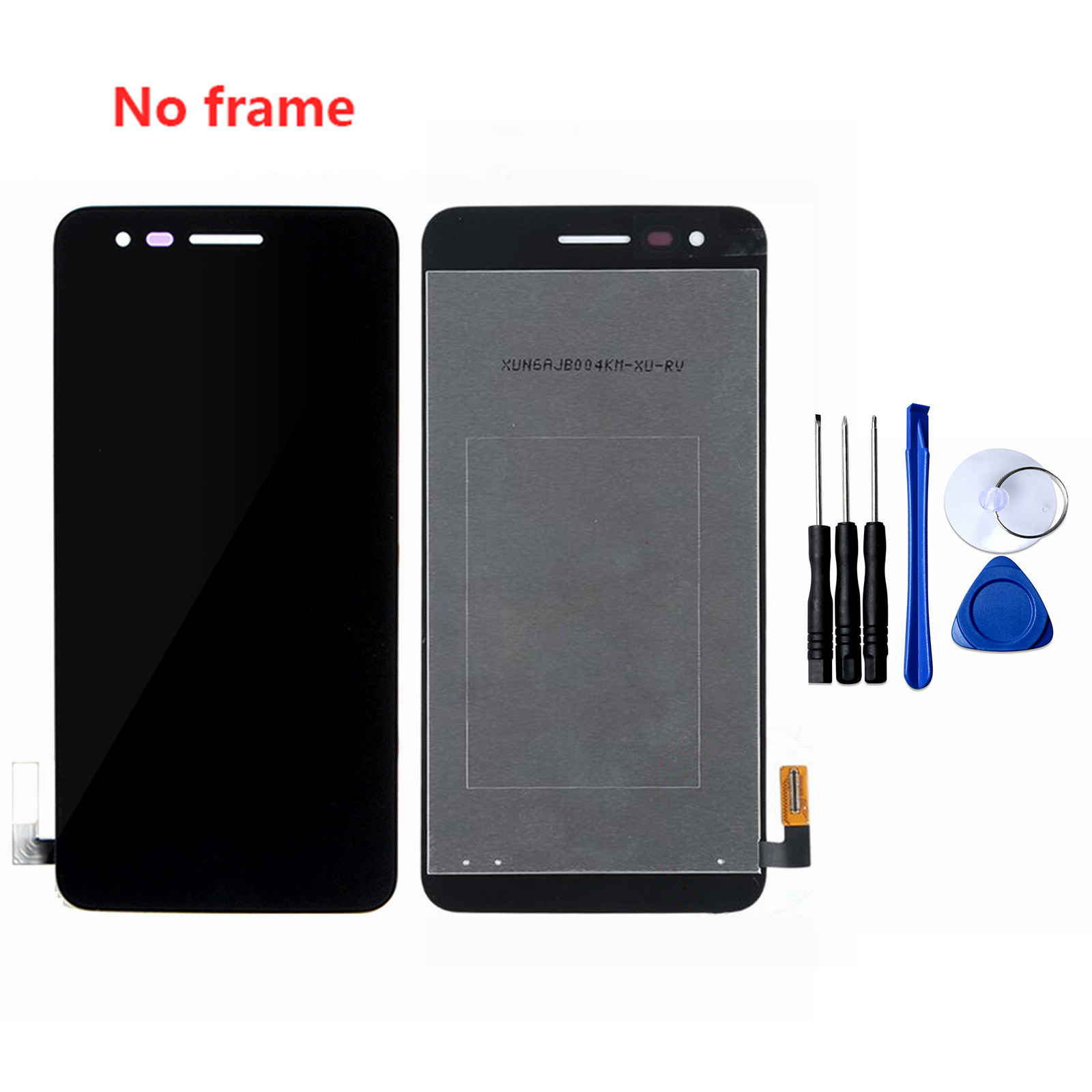 For <font><b>LG</b></font> K4 2017 M150 <font><b>M160</b></font> M153 <font><b>LCD</b></font> Display Touch Screen Digitizer Assembly With/Without Frame Replacement <font><b>LCD</b></font> Screen Free Tools image