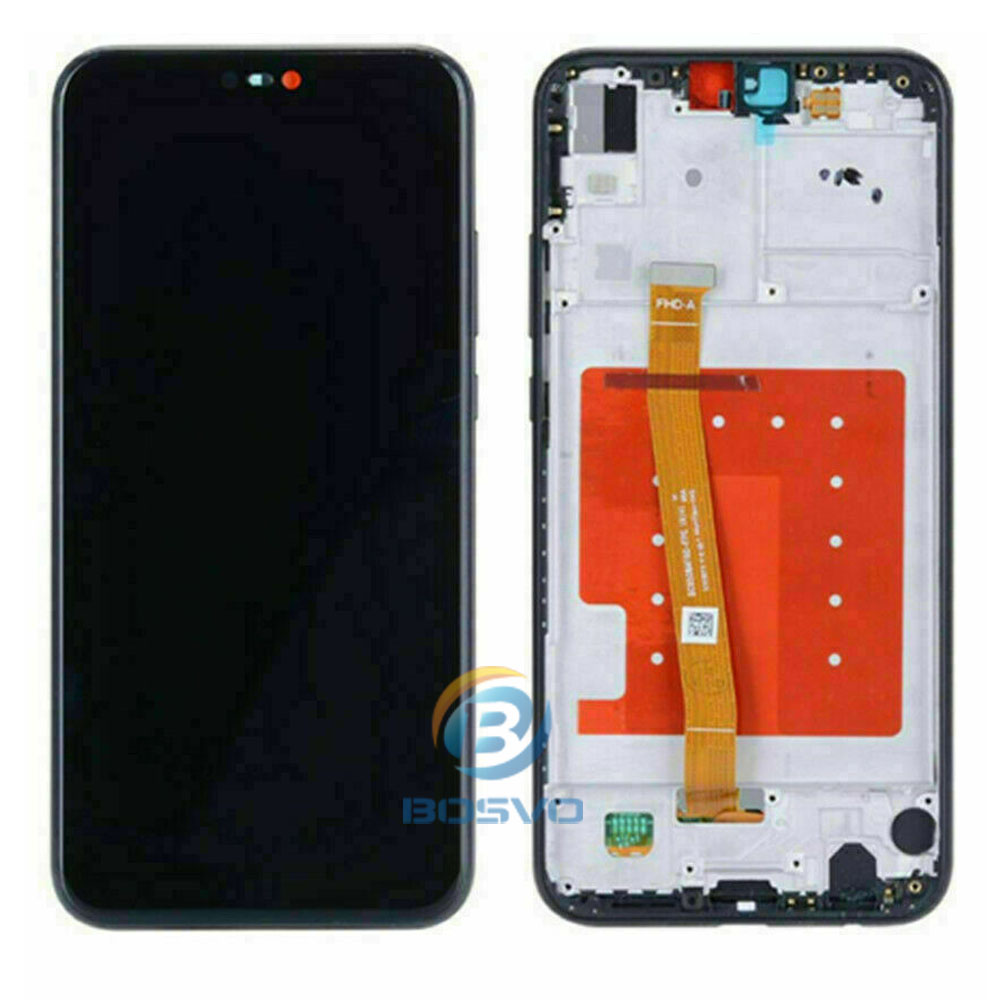 Image 2 - for Huawei P20 lite LCD screen display Nova 3e with touch with frame assembly Replacement repair partsMobile Phone LCD Screens   -