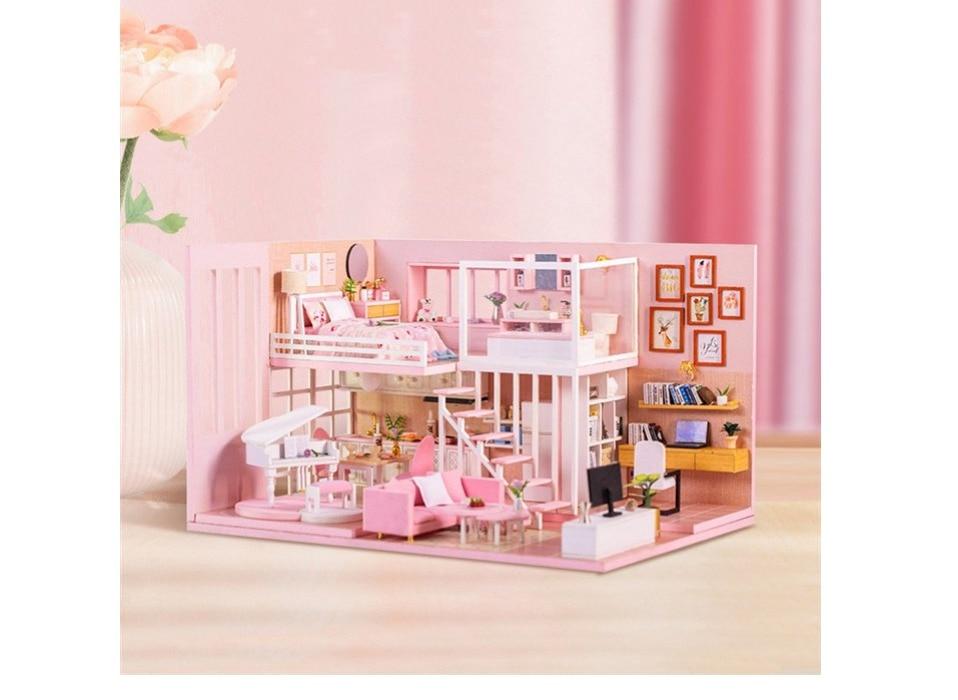 Dream Girl Heart DIY 3D Miniature Dollhouse