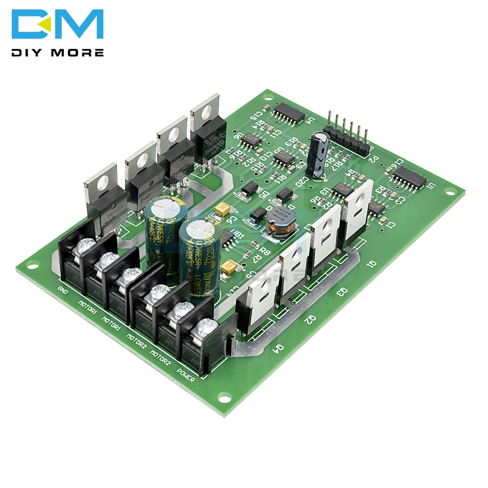 High Quality Newest H Bridge Dual Motor Driver Drive Module Board DC MOSFET  IRF40 40V 406V 40A 400A Peak 400A Replace L40