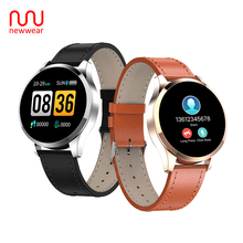 Newwear Q9 Smart Watch Bracelet Waterproof HR Sensor Heart Rate Blood Pressure Monitor Fashion Fitness Tracker Smartwatch Men