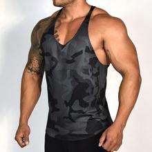 2020 letna koszulka topy Gym Men Sport topy szybkie suszenie do biegania na trening topy Fitness koszulka bez rękawów tanie tanio XISHA Wiosna Lato AUTUMN Winter Bawełna mieszanki Pasuje mniejszy niż zwykle proszę sprawdzić ten sklep jest dobór informacji