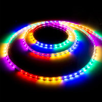 10m 480leds Flashing LED Strip Light 220v Connector 6 Colors Chaging SMD2835 Soft Tube LED Light Strip for Home Outdoor Decor