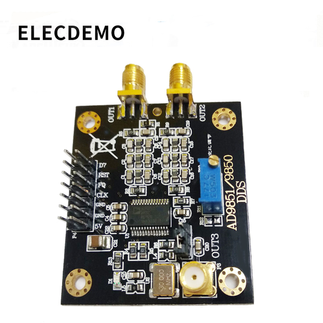 AD9851 modülü DDS fonksiyon sinyal jeneratörü gönderme programı ile uyumlu AD9850 modülü Lite