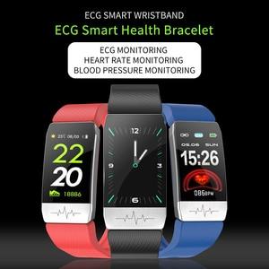 Image 4 - Multi sport Smart Watch Thermometer Temperature Measurement ECG Health Monitor Wristband Waterproof Music Control Smart Bracelet
