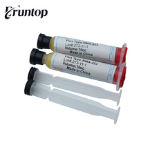 2PCS  10cc RMA 223 Soldering Paste DIY Flux Grease RMA223  for Chips Computer Phone Repair Tool with Needle Piston