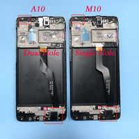 Original para samsung galaxy a10 tela de toque a105 a105f SM-A105F 2019 lcd digitador assembléia com substituição do quadro m10 m105 lcd