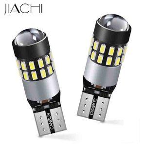 Image 1 - JIACHI 100x led T10 W5W 194 168 501 12 فولت 24 فولت سيارة لا خطأ LED CANBUS غير قطبية الأبيض اكسسوارات السيارات الداخلية التخليص مصابيح