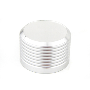 Image 4 - אלומיניום נפח ידית 1pcs קוטר 38mm גובה 25mm מגבר פוטנציומטר knob