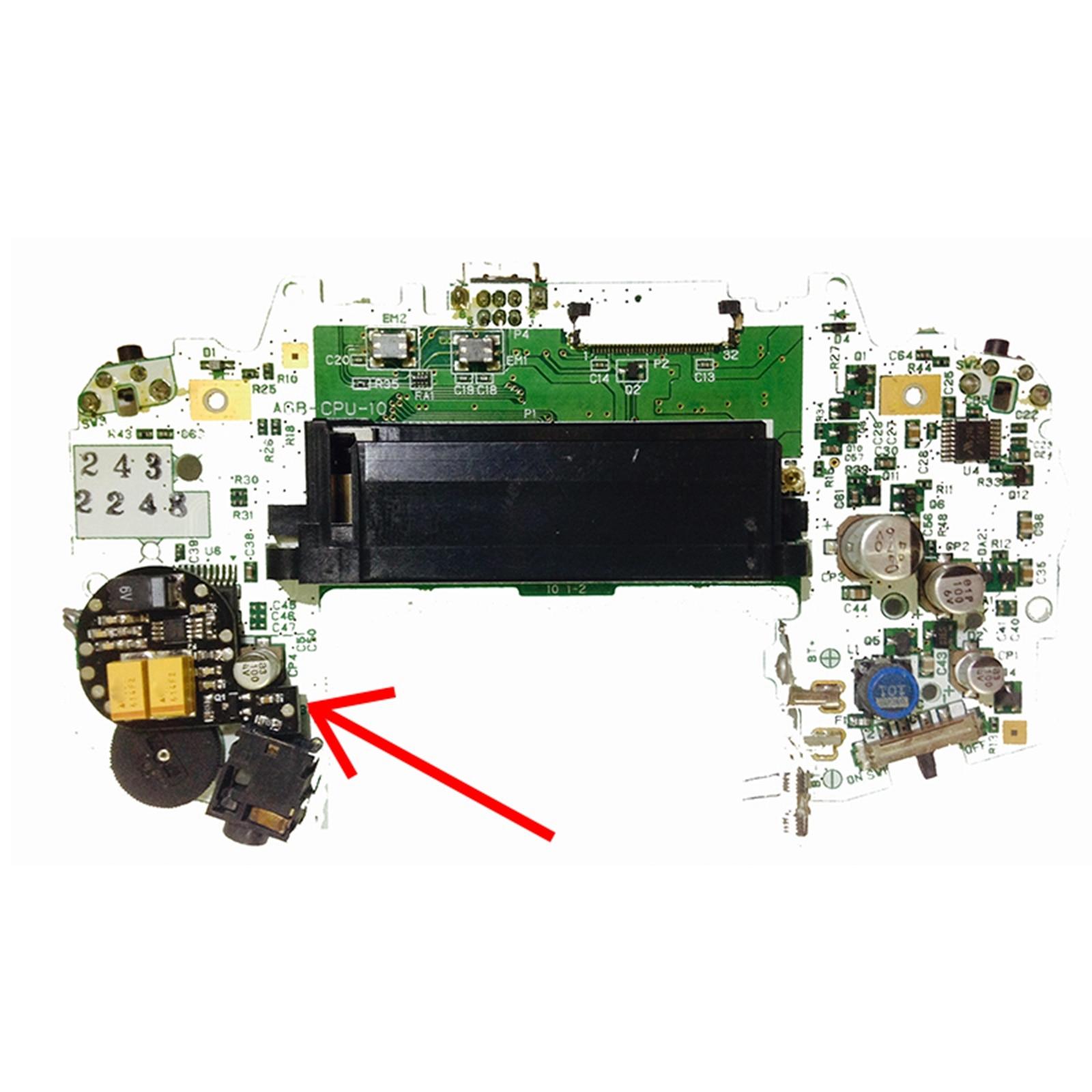 Sound Amplifier Module For Nintendo GBA Motherboard EMI Elimination For GameBoy Advance Brightness Module Accessories