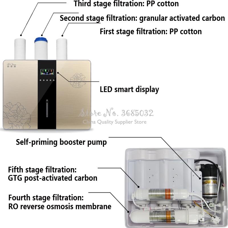 Очиститель воды для дома, очиститель воды с обратным осмосом, фильтр для обратного осмоса, фильтр для обратного осмоса, очиститель чистой во... - 3
