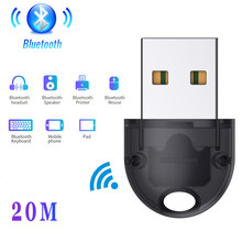 USB Bluetooth Dongle Bluetooth 5.0 20m Wireless Adapter Mouse Keyboard Receiver Headphone PC Laptop Audio Receiver Transmitter