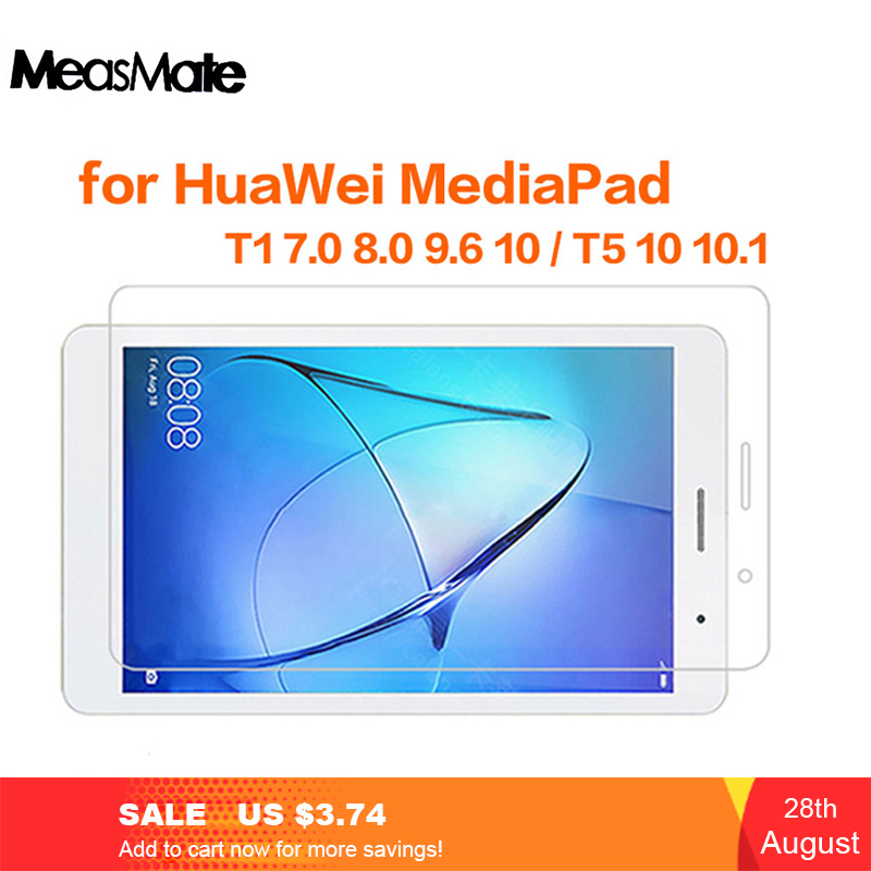 Screen-Protector Huawei Mediapad Protective-Film Tempered-Glass Tablet T1-701 701U