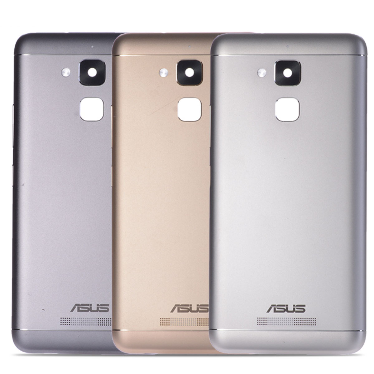 asus zenfone 3 back cover - Original Rear Back Housing for ASUS Zenfone 3 Max ZC520TL Back Cover Battery Door with Power Volume Buttons Camera Lens Replace