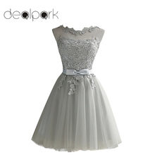Women Lace Dress Embroidered Mesh Tulle Slim Elegant Lady Princess Bridesmaid Wedding Ball Gown Party Dresses female Plus Size