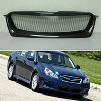 Body kit front bumper cover Refitting grill Accessories carbon fibre Racing Grills use for subaru Legacy 2010 2012 year