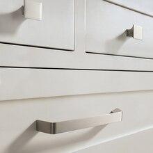 Kitchen Door Handles Cabinet Handles Drawer Knobs Zinc Alloy Wardrobe Door Handles Modern Style Hardware стоимость
