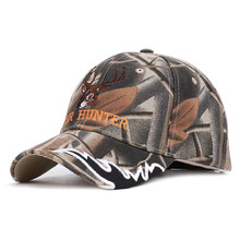 Go Xia Camouflage Jungle Deer Head Letter Hunter, Europe And The Hunting Outdoor Sunshade Cap Baseball