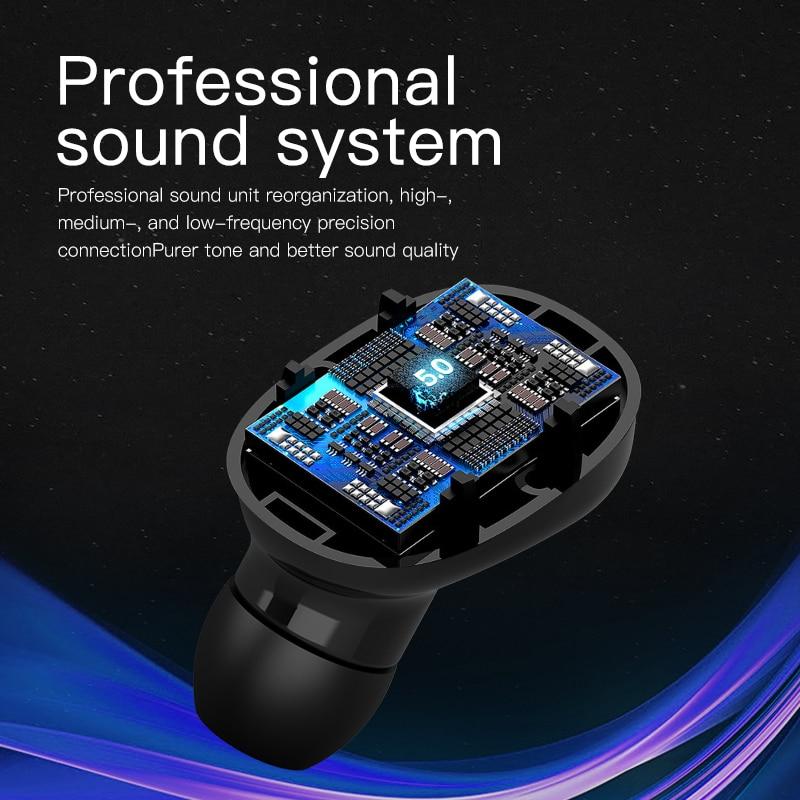 cheapest Baseus WM01 Plus TWS Wireless Earphone Bluetooth Headphone 5 0 True Wireless Earbud Headset In Ear Buds For iPhone 12 Pro Xiaomi