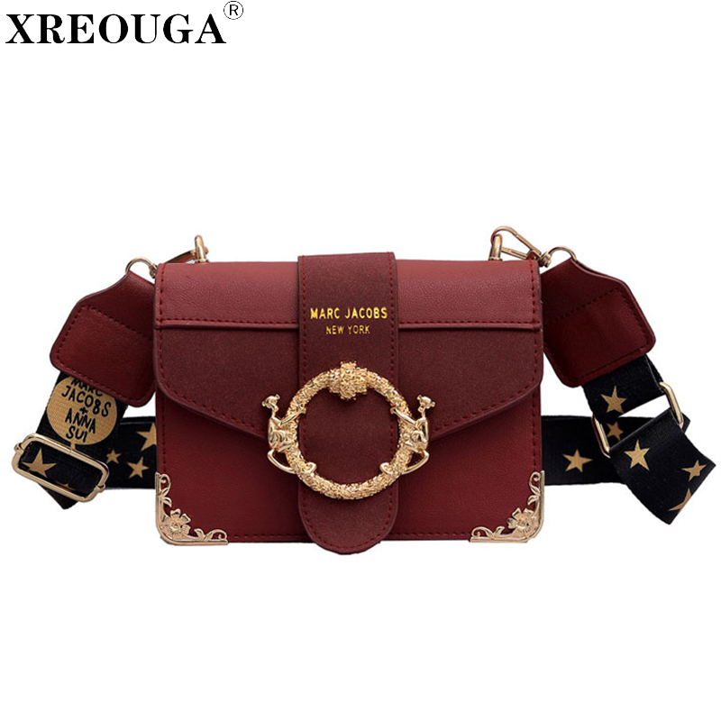 Famous Brand Women Messenger Bag Broadband Shoulder Bag Fashion Small Square Bag Luxury Handbag Female Bags Designer Bolso Mujer