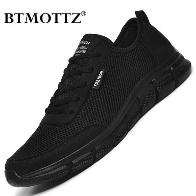 Summer Mesh Men Shoes Lightweight Sneakers Men Fashion Casual Walking Shoes Breathable Lace-up Mens Trainers Zapatillas Hombre 1