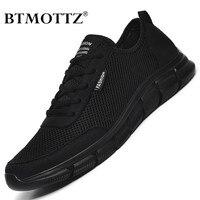 Zapatillas deportivas de malla con cordones para hombre, calzado deportivo ligero y transpirable, con estilo casual, para verano