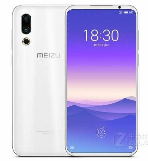 """Original global Meizu 16s 4G LTE 6GB 128GB Snapdragon 855 Octa Core 6.2 """"2232x1080 p 48mp 20mp double caméra arrière chargeur rapide NFC"""