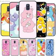 Care Bears Cartoon Cases for Samsung Galaxy J8 J6 J4 Plus A9 A7 A8 A6 2018 M40 M20 M10 M30 S Black Silicone Soft Cover(China)