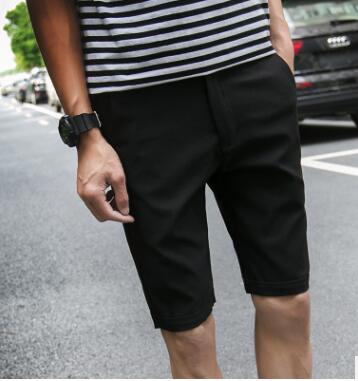 GG5 Summer Shorts Korean Version Of Simple Style Pure Color Fashion Trend Street Boys Casual Pants