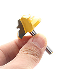 цена на 1pc Knife 45 Degree 1/2'' Shank Lock Miter Router Bits For Woodworking Cutter Tools 1/4*1-3/8 Woodworking Cutter